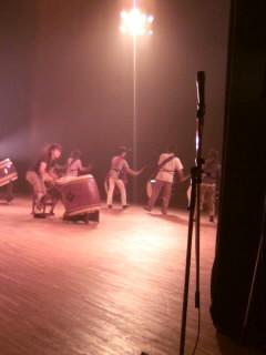 和太鼓フェスティバルのリハでした。